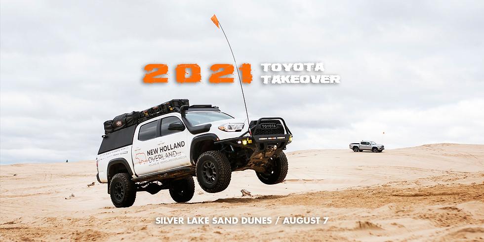 2021 Toyota Take-Over / Silver Lake Sand Dunes