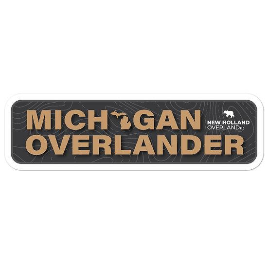 Michigan Overlander Sticker
