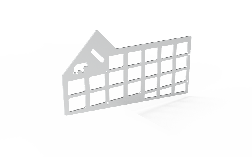 2014+ Tundra Center Console Molle Panel