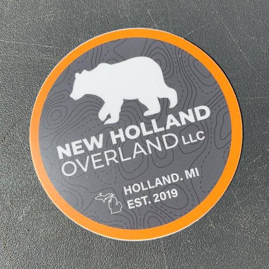 """NHO Round 3"""" Sticker"""