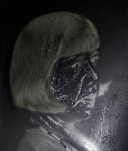 Negativo 5 x 7 circa 1920  Piezas de una exposición sobre la obra de Gabriel Figueroa Cinefotógrafo