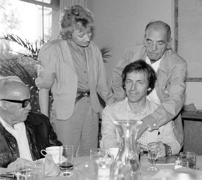 Bunuel, Figueroa y Costa Gavras, 1984
