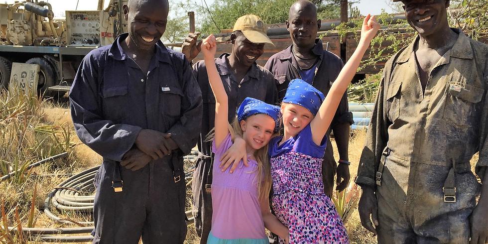 Drill Water Wells in Uganda with Ashlyn