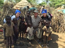 Children at a tribe