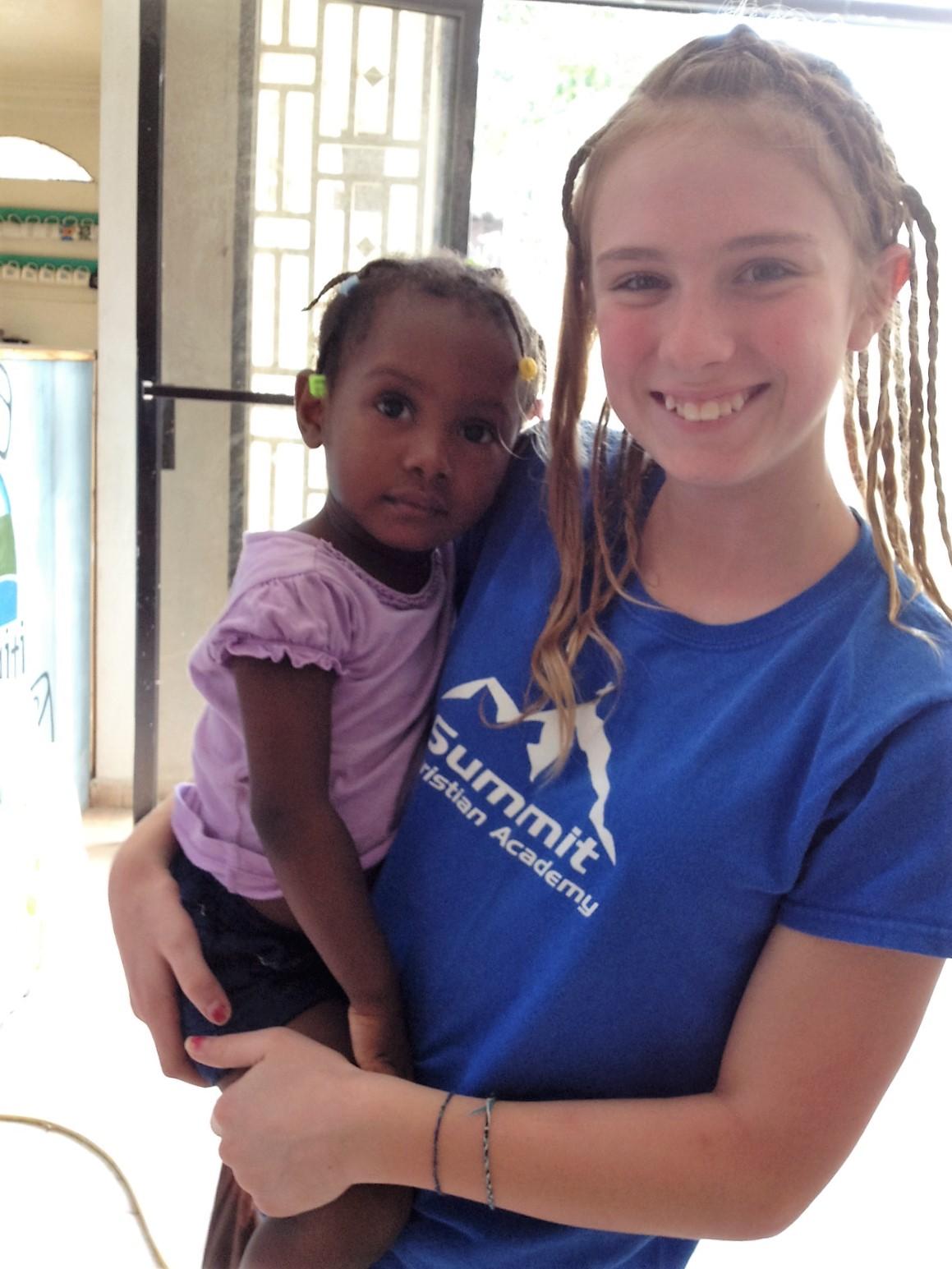 Natasha in Haiti 2