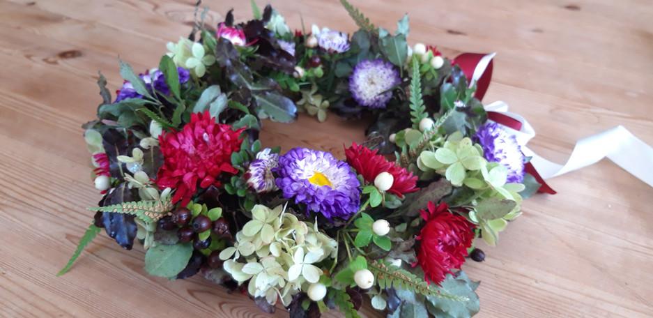 Autumn Bridal Crown