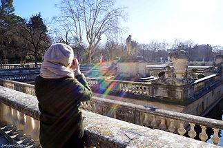 Cours photos Nîmes jardin de la fontaine