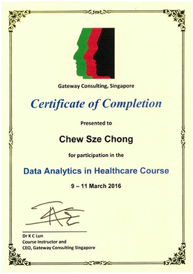 Certificate of Course Completion Health