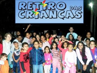 RETIRO DAS CRIANÇAS   -  de 4 a 7 anos    -    20 e 21/OUT