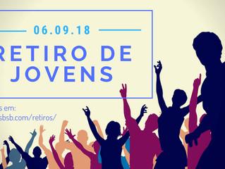(realizado) RETIRO DE JOVENS - 06 a 09/Set