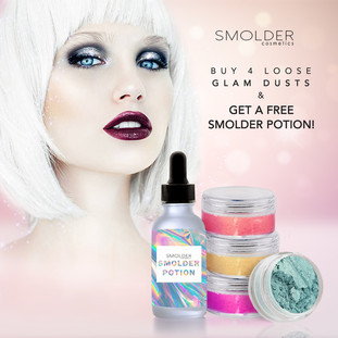 Smolder Cosmetics Instagram Promo
