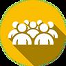 Diseño gráfico tamaño del grupo. En nuestras actividades o dinámicas de grupo pueden participar hasta 60 personas al mismo tiempo. Grupos grandes subdividimos en equipos pequeños para el mejor rendimiento de vuestro evento especial en Málaga. www.malagacityadventure.com/eventos-actividades-dinamicas-grupo