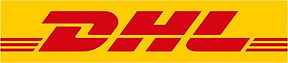 Logo DHL. Happy clients on their DHL group activity in Malaga. Team building, sights & activities. www.malagacityadventure.com/city-trip-team-buidling-activities