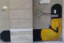 Graffiti und Kunst im Zenrum von Malaga. Entdecke die schönsten Ecken der Stadt auf unseren Stadtabenteuern für Urlaub und Rei. www.malagacityadventure.comen