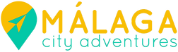 Logo Malaga City Adventure: Unusual things to do in Malaga Spain. Find the best tours and activities in Malaga old town. Get your adventure now and explore Malaga in a cool and unusual way! Your Malaga GPS City adventure. Get your reservation now: www.malagacityadventure.com