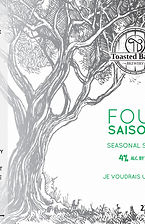 Toasted Barrel's Four Saisons Beer Label