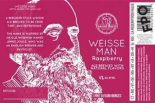 Toasted barrel brewery Wiesse Man Raspbe