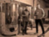 Sage Dawson, Lynn Litchfield with Toasted Barrel Coming Soon Banner