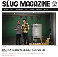 SLUG magazine's interview with Toasted Barrel