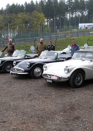 In the infield at Spa, Belgium May 2019
