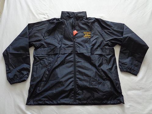 DLOC Showerproof Jacket, Black or Dark Blue with Embroidered logo
