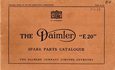 T.C.109 Spare Parts Book (42,650 - 42,974 & 47,600 - 47,749)