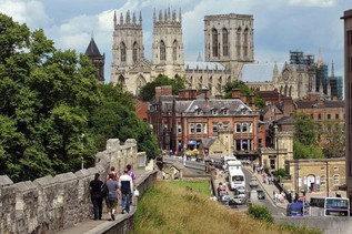 The Minster and walking the walls