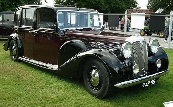 Daimler DE36 Landaulette 1947 By PSParro