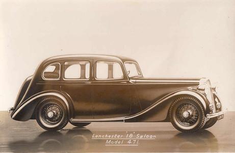 25) Daimler 6-light Saloon O.D.Philpot C