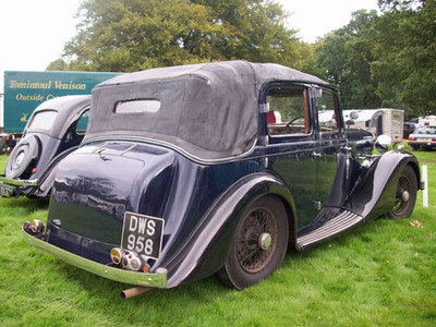 15) Salmons & Sons Tickford Cabriolet DW