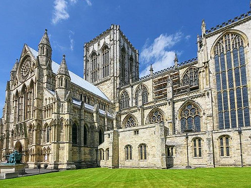 Visit to York Minster Tour Saturday Morning 19th June 2021
