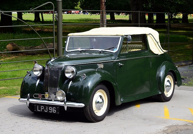 LD10 Abbott Bodied Drop Head Coupe 1947
