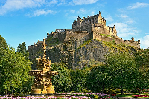 Friday 7th June 2019 All day visit to Edinburgh: the Castle and beyond