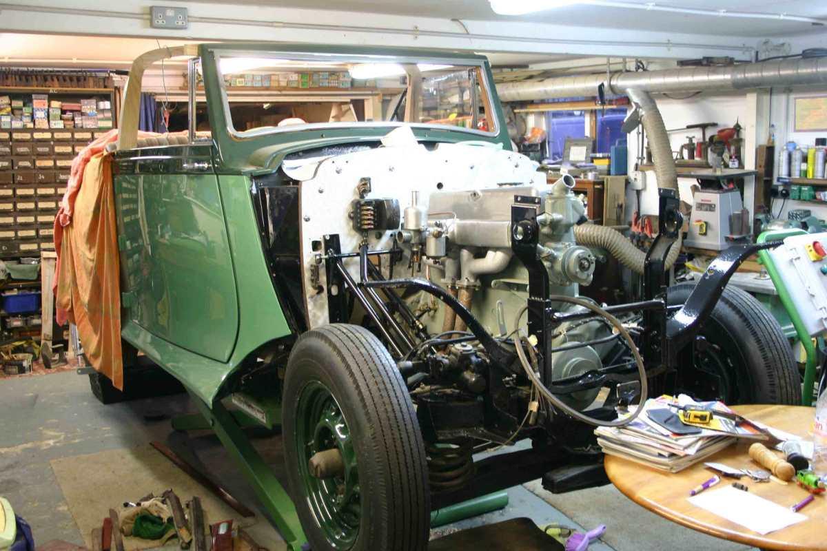 WTO632 undergoing restoration
