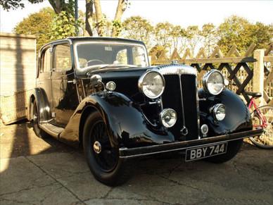 3) Daimler-bodied  4-light Sports Saloon N. Sharpe