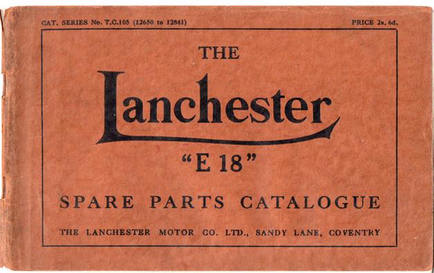 T.C.105 Spare Parts Book (12,650 - 12,84