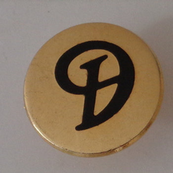 """Daimler """"D"""" Tie pins"""