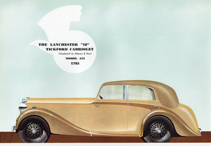 24) Salmons & Sons Tickford Cabriolet  O