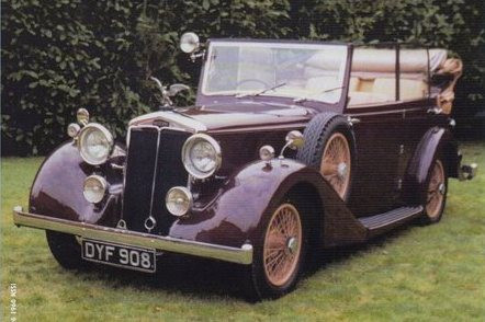 17) Salmons & Sons Tickford Cabriolet DY