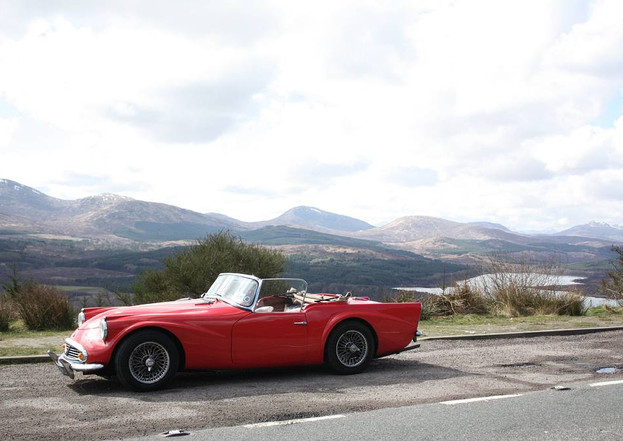 Peter Young's car on the Isle of Skye 2008
