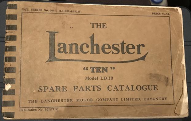 LD10 Parts catalogue 604-7  L61800 - L63