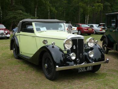 3) Unknown Coachbuilder Philpot Collection DUL88