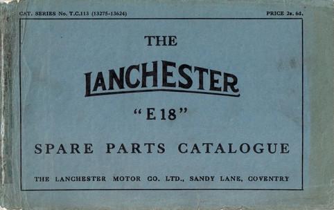 T.C.113 Spare Parts Book (13,275 - 13,62