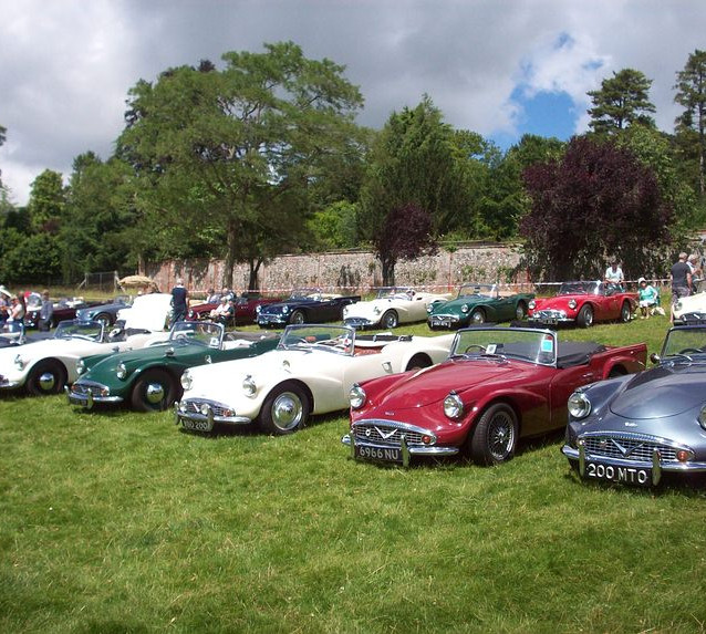 Cars at the SP250 Day 2016 at Stonar Park, Henley-on-Thames, England