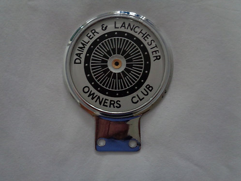 DLOC Membership Car Badge - Bar fixing