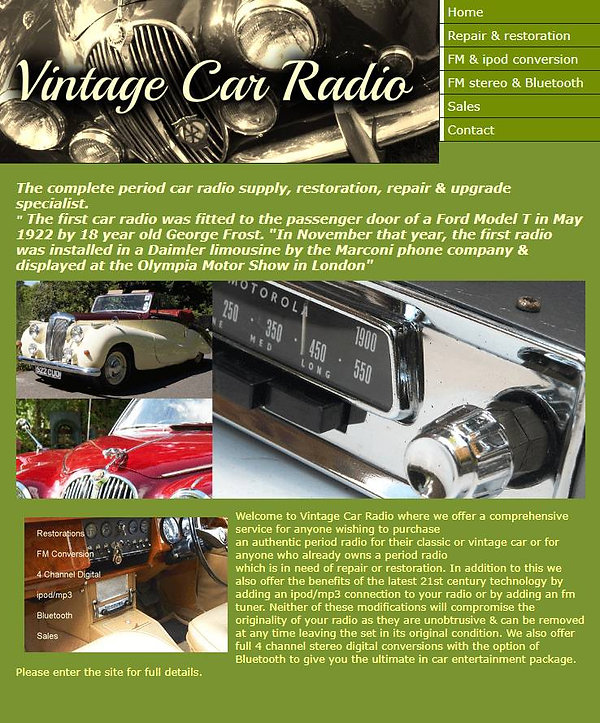 Vintage Car Radio.JPG