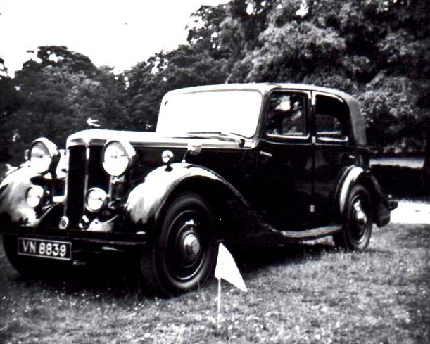 5) Daimler-bodied 4-light Sports Saloon B.E.Smith Collection VN8839