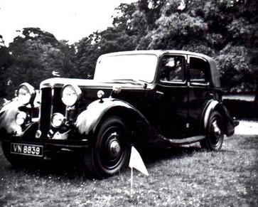 5) Daimler-bodied 4-light Sports Saloon B.E.Smith Collection VN8839