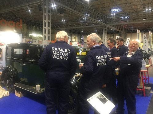 Daimler Motor Works high quality mechanics overalls