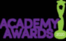 Academy Awards Logo 2020 greenpurple.png
